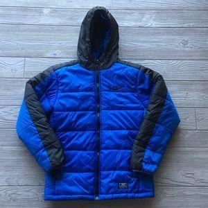 Nike Puffer Jacket Hood Youth age 10-12 Years SZ M